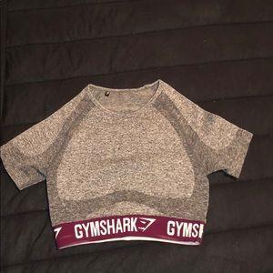 Gymshark flex short sleeve crop top